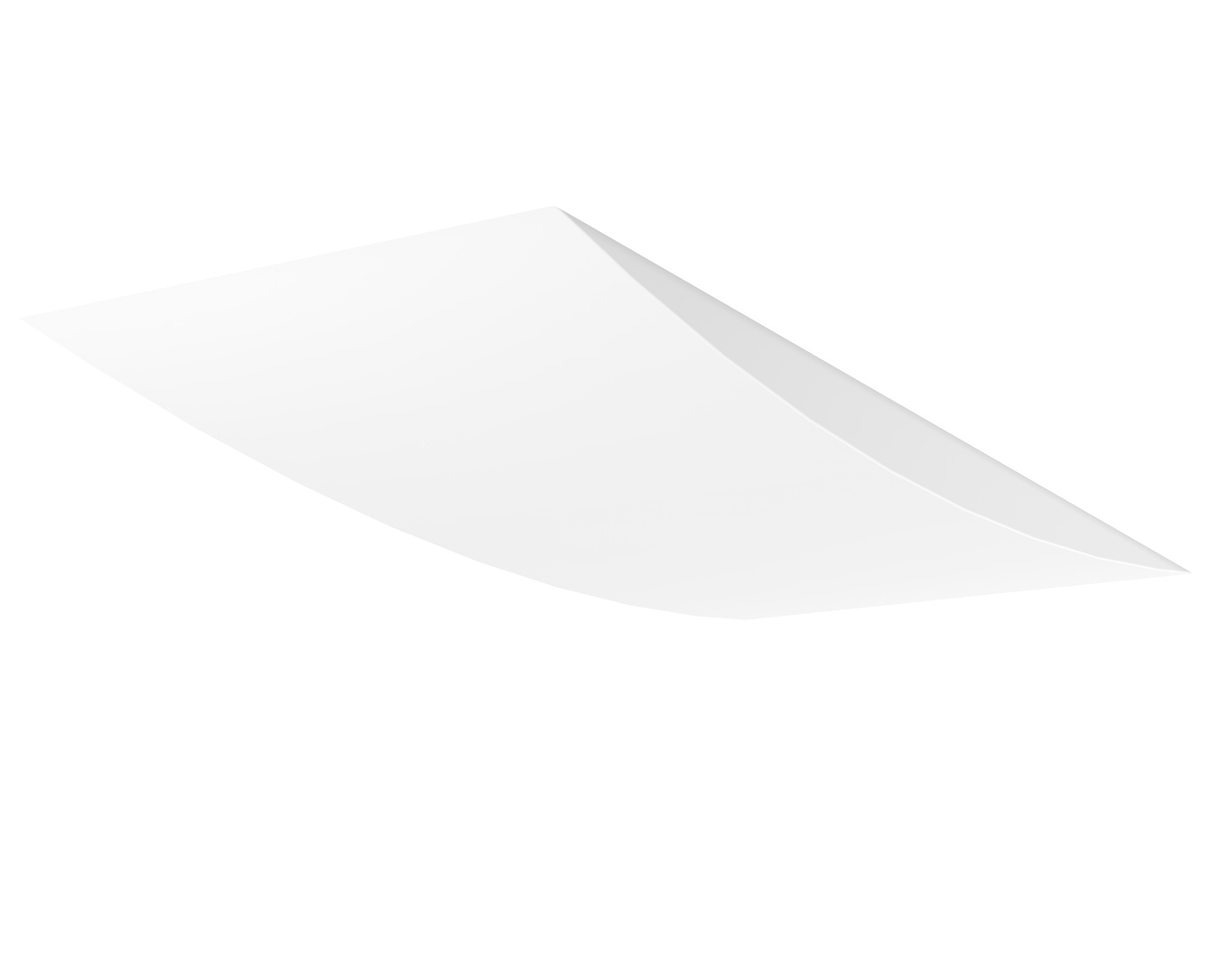 Vandal Resistant Convex LED Troffer