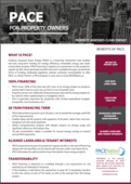 PACE benefits for commercial property owners